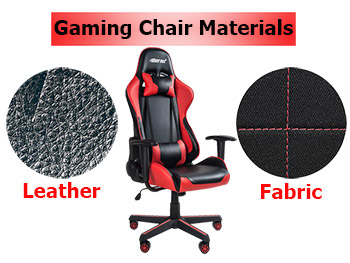 Gaming Chairs Materials