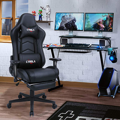 Fine Cyrola Gaming Chair Review Gamingchairing Com Caraccident5 Cool Chair Designs And Ideas Caraccident5Info